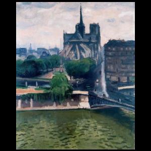 Albert Marquet - L'Abside de Notre Dame