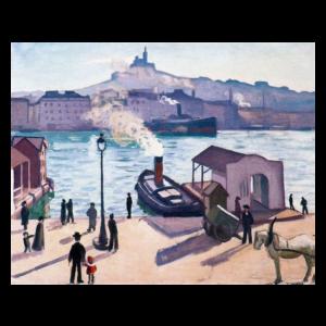 Albert Marquet - Le Port de Marseille