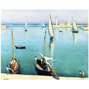 Albert Marquet- Le Port de Sete