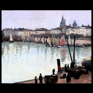 Albert Marquet - Le port de la Rochelle
