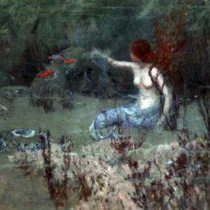 Albert Julius Olsson - Où le corail vit