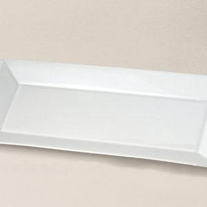 plat rectangulaire 32x15 Kyoto en porcelaine décorée