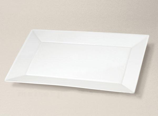 plat rectangulaire 34x19 Kyoto en porcelaine décorée
