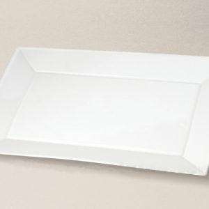 plat rectangulaire Kyoto en porcelaine décorée