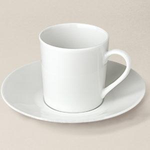 tasse à café Sologne en porcelaine décorée