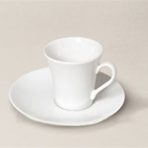 tasse à café Kosmos en porcelaine décorée