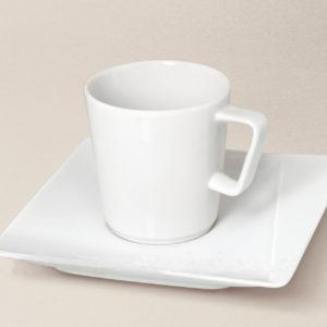 tasse à thé Khéops en porcelaine décorée