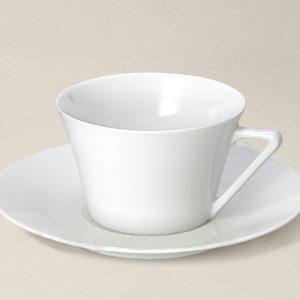 tasse à thé Haussmann 20cl en porcelaine décorée