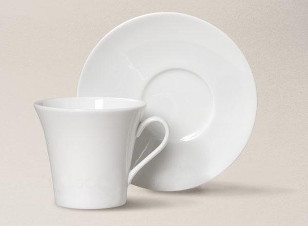 tasse à thé Kosmos en porcelaine décorée