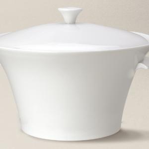 soupière 3.20L Haussmann en porcelaine décorée