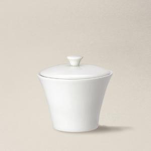 eucrier 15cl Haussmann en porcelaine décorée