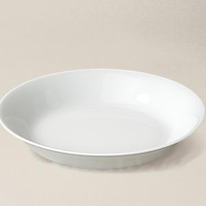 assiette creuse Haussmann en porcelaine décorée