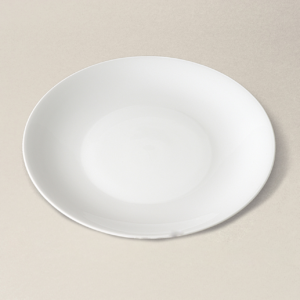 assiette à gâteau/coupe D19 Haussmann en porcelaine