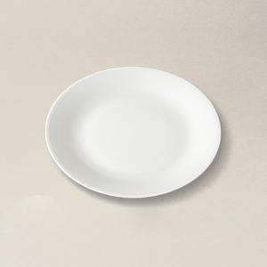 assiette/coupe à pain Haussmann en porcelaine décorée