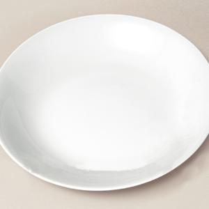plat creux Haussmann en porcelaine décorée
