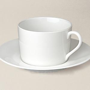 tasse à thé Sologne en porcelaine décorée