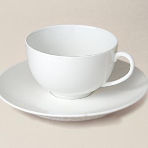 tasse à thé en porcelaine décorée