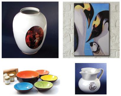 piece unique en ceramique