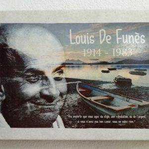 plaque Loui de Funés personnalisées