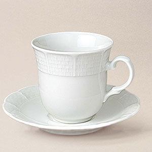 tasse café Natacha, porcelaine, décorée