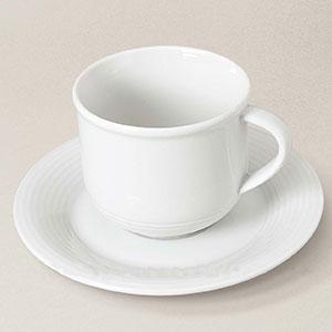 tasse à café thé soucoupe porcelaine Abba, décorée