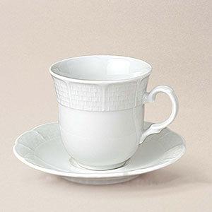 tasse moka ou soucoupe Natacha 8cl porcelaine décorée