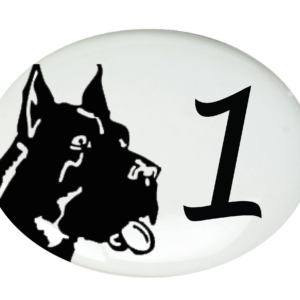 Médaillo-Décoration chien-1
