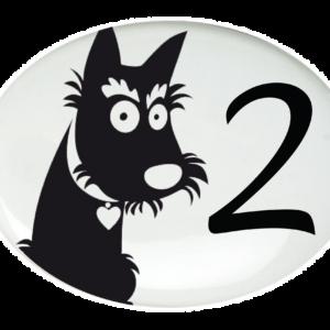 Médaillo-Décoration chien-2